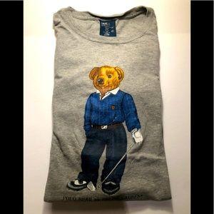 POLO BY RALPH LAUREN teddy bear t-shirt men's L/G